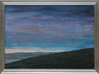 J Scott Collard paintings, 24 x 18 paint on panel, landscape
